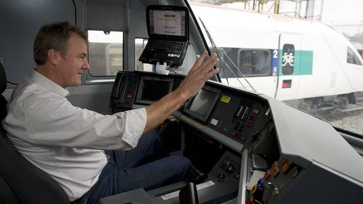Lokführerpräsident Hubert Giger kritisiert die SBB: «Lokführer werden alleine gelassen.»