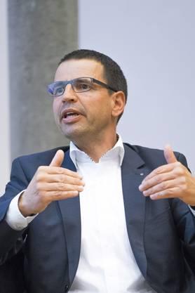 Matthias Jauslin, Präsident FDP Aargau: «Die Initiative ist KMU- und familienfeindlich – künftig müssten auch direkte Nachkommen Erbschaftssteuer zahlen.»