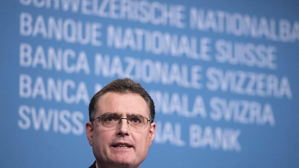 SNB-Chef Thomas Jordan muss für 2018 einen Verlust einstecken (Archivbild).
