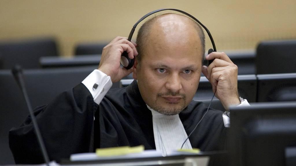 ARCHIV - Der britische Jurist Karim Asad Ahmad Khan ist als neuer Chefankläger des Internationalen Strafgerichtshofes vereidigt worden. Foto: Robert Vos/POOL ANP/AP/dpa
