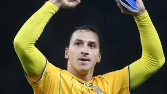 Fussball-Star Zlatan Ibrahimovic