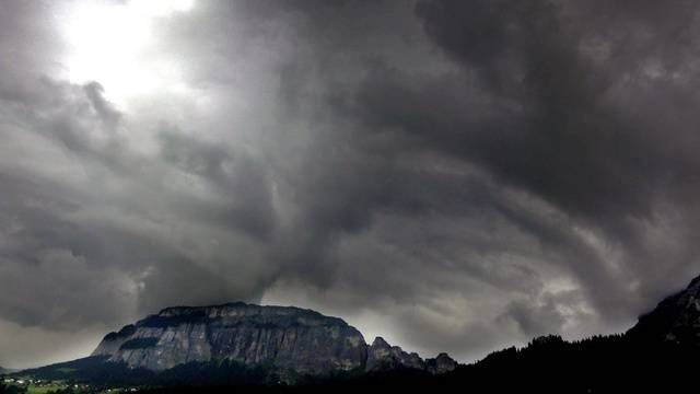 Orkanböen im Jura. (Symbolbild)