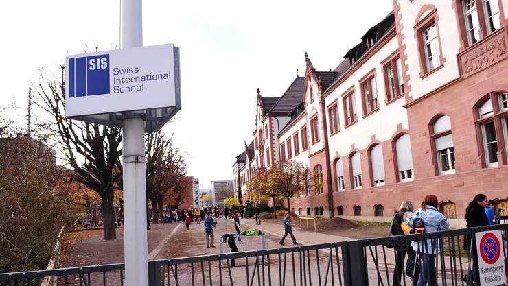 Die zweisprachige «Swiss International School» ist im Basler Messequartier angesiedelt.
