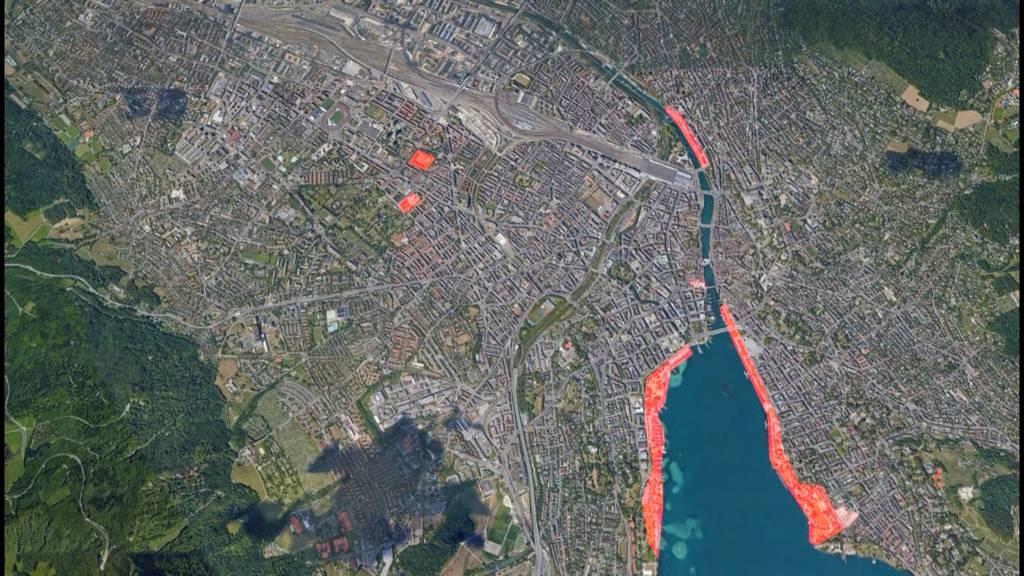 Kampf gegen Coronavirus: Stadt Zürich riegelt Sperrgebiete ab