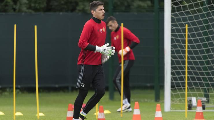 Djordje Nikolic konnte sich bisher fast ausschliesslich im Training beweisen.