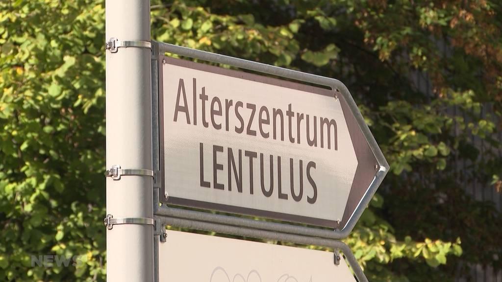 Mehrere Ansteckungen im Altersheim Lentulus