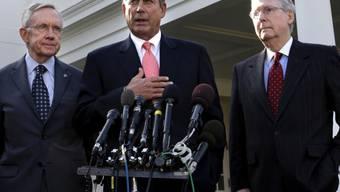 Harry Reid, John Boehner und Mitch McConnell (Archiv)