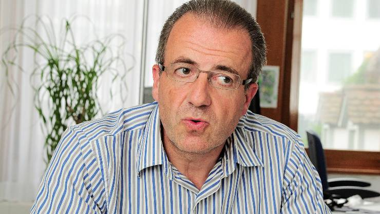 Michel Girard, Leiter des Basler Migrationsamts. Kenneth Nars