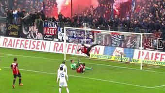 Der weltbekannte Penalty: Die unfassbar geniale Rettungsaktion des FC Aarau im Spiel gegen den FC Zürich