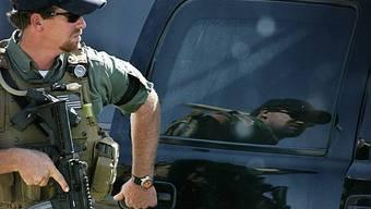 Söldner einer privaten US-Sicherheitsfirma im Einsatz im Irak (Archiv)
