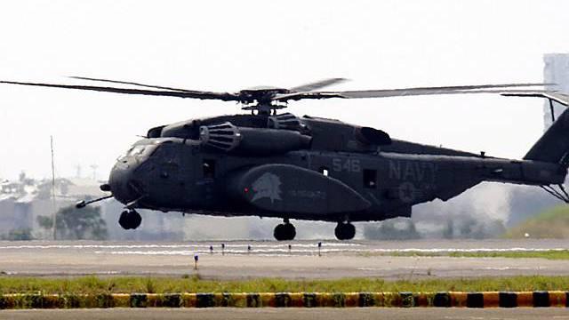 Armee-Helikopter in Taiwan