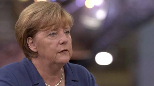 Angela Merkel besucht Bern