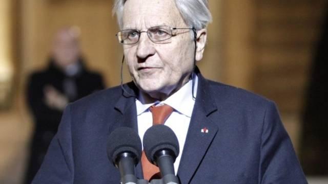 EZB-Präsident Jean-Claude Trichet erhält den Aachener Karlspreis