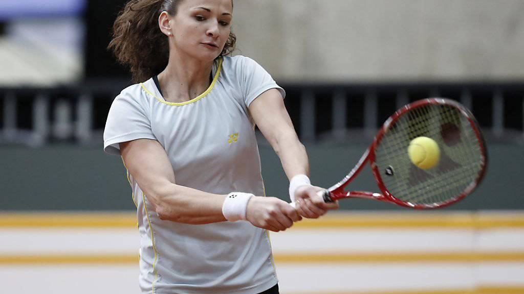 Amra Sadikovic verblüfft mit ihrem Erstrunden-Sieg in Carlsbad