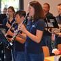 Jubilarenfeier mit Fischessen, Harmoniemusik Rohrdorf