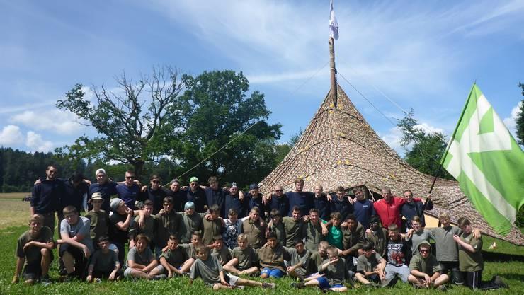 Die Sommerlager der Jungwacht Wohlen bieten viele unvergessliche Erlebnisse