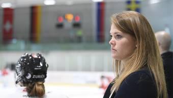 Florence Schelling beerbte Alex Chatelain und ist neue Sportchefin des SC Bern.