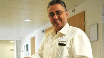 Rolf Prions, Leiter des Qualitätsmanagements im Gesundheitszentrum Fricktal