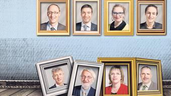 Legislaturbilanz: Vier Namen, die für Schlagzeilen gesorgt haben. Und vier Politiker, deren Namen fast niemand kennt.
