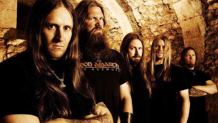 Amon Amarth werden mit dem Album «Surtur Rising» von der Metal-Szene als neue Helden gefeiert.  Sony