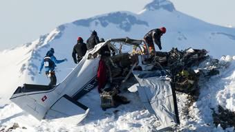 Flugzeugabsturz im Wallis