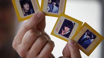 Noch nicht veröffentlichte Diabilder der Beatles kommen unter den Hammer