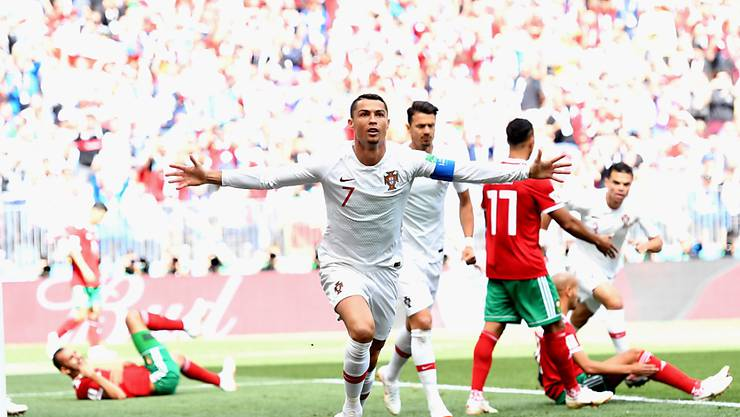 Cristiano Ronaldo läuft es bislang in Russland