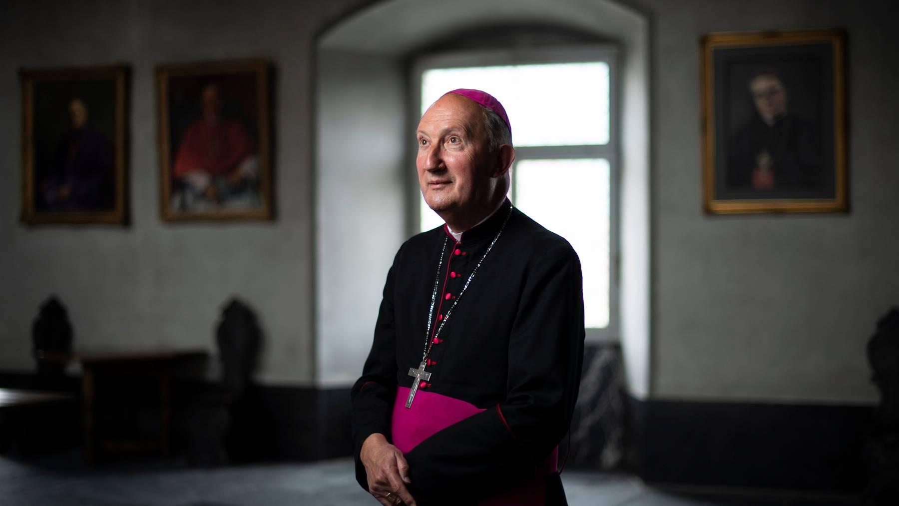 Der apostolische Administrator Peter Bürcher hätte seine Aufgaben gestern an den neuen Bischof übergeben sollen.