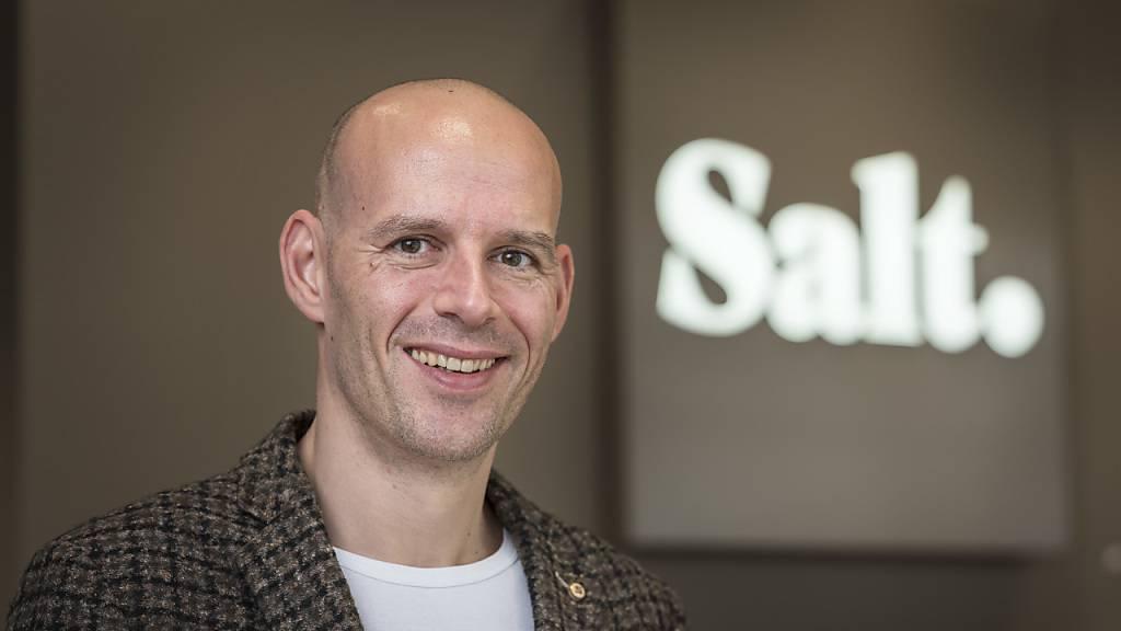 Rückschlag für Salt-Chef Pascal Grieder vor dem Zürcher Handelsgericht im Streit gegen Sunrise. Das Gericht hat das Gesuch von Salt um eine einstweilige Verfügung abgelehnt. (Archivbild)
