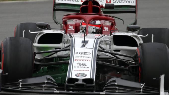 Alfa Romeo-Ferrari und Kimi Räikkönen, das scheint zu passen