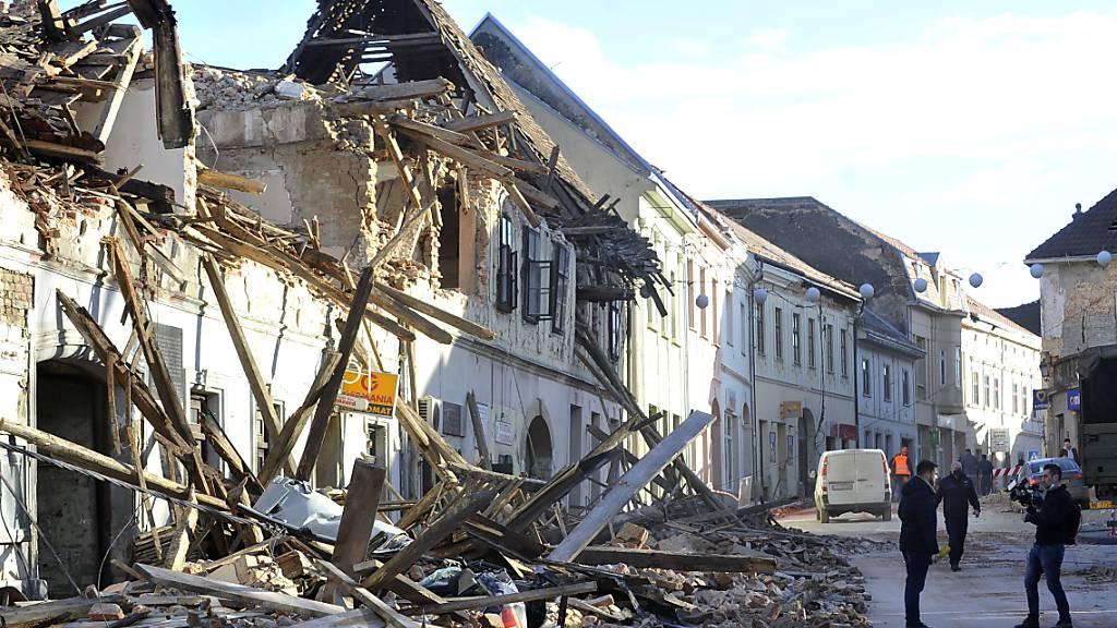 Weitere Erdbeben in Kroatien – Bevölkerung in Angst