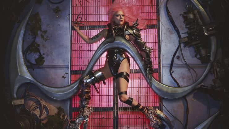 """US-Popstar Lady Gaga veröffentlicht ihr sechstes Studioalbum """"Chromatica""""."""
