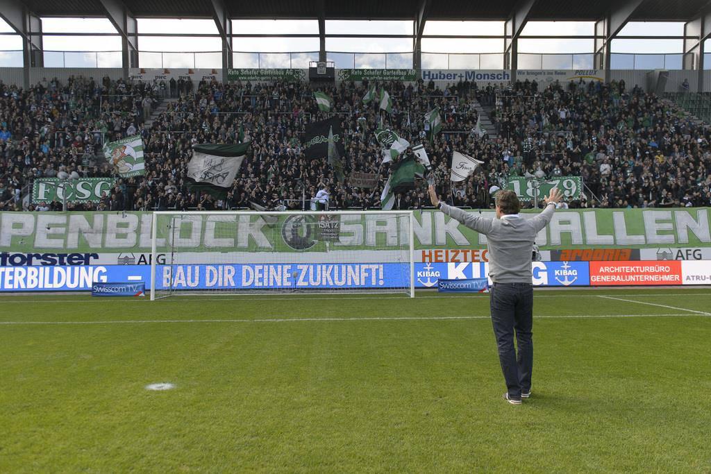FC St.Gallen vs. SC Sion (© Keystone)