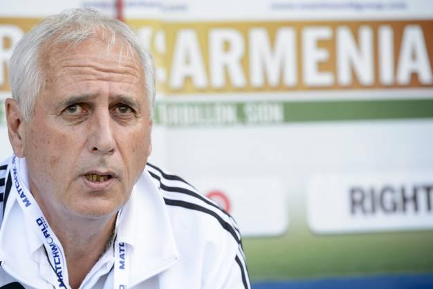 In Armenien war Bernard Challandes von 2014 bis 2015 Nationalcoach.