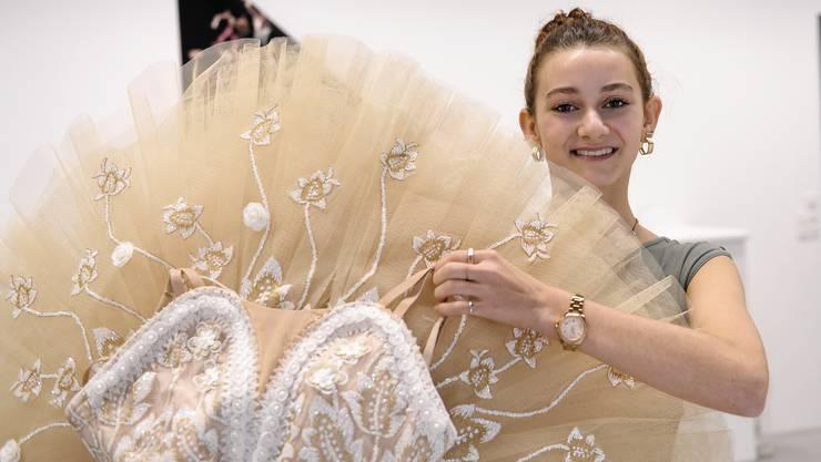 Leonie Hansen macht die Lehre zur Bühnentänzerin.