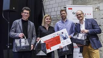 Neugründer Challenge 2018 im Uferbau Solothurn