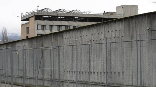Blick auf das Genfer Gefängnis Champ-Dollon (Archiv)