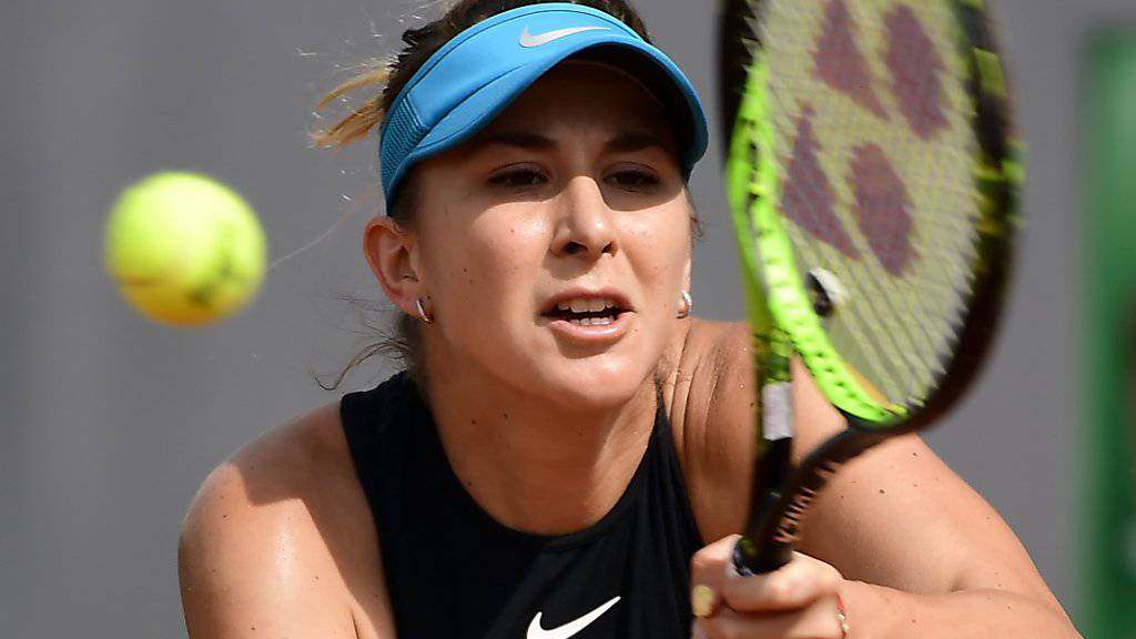 Belinda Becic scheiterte in Houston im Achtelfinal