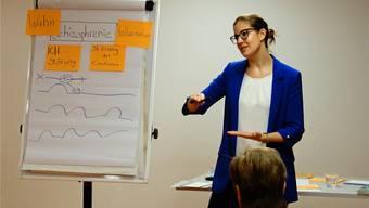 Judith Weiss führte die Teilnehmer durch die Weiterbildung. zvg