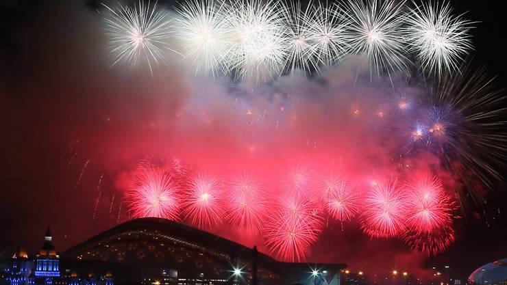 Luzern kann ein Feuerwerk planen für die Ausrichtung der Winter-Universiade 2021