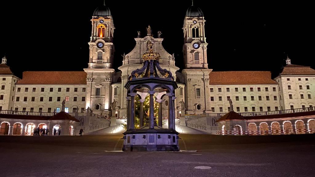 Kloster Einsiedeln in neuem Licht