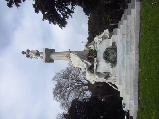 Mazzini-Denkmal an der Via Grenchen