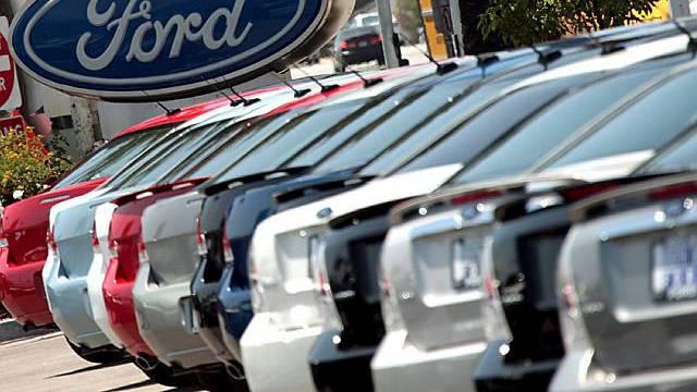 Rückgang der Verkäufe auch bei Ford