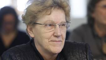 Johanna Bartholdi – die derzeit berühmteste Gemeindepräsidentin der Schweiz. Hanspeter Bärtschi