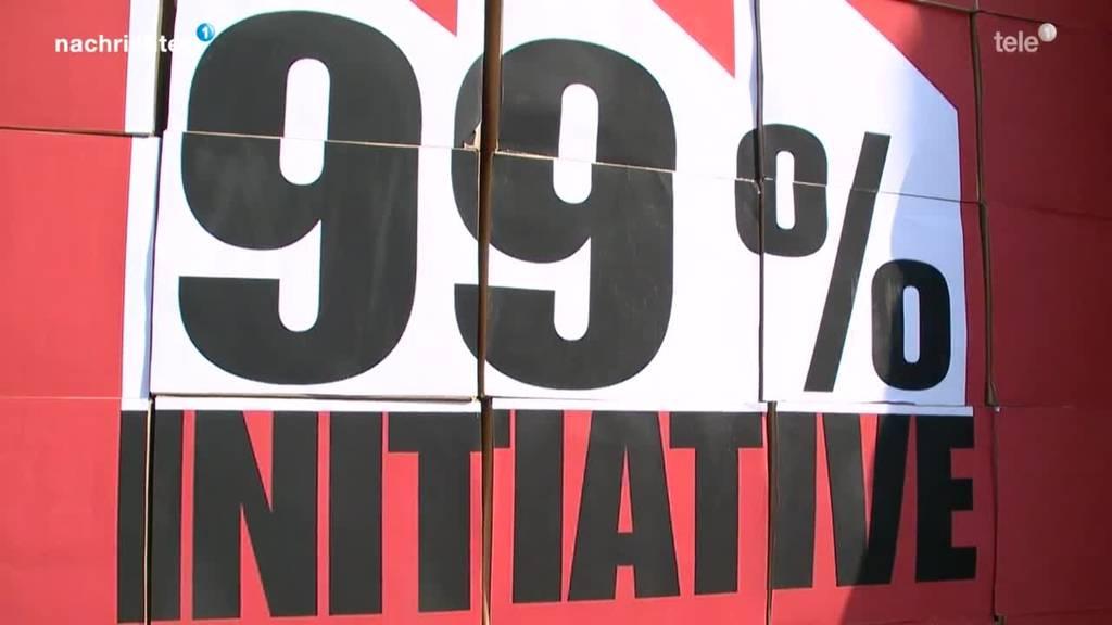 Debatte zur 99-Prozent-Initiative im Ständerat