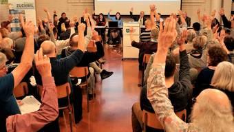 Gemeindeversammlung genehmigt Kunstrasen und Steuersenkung
