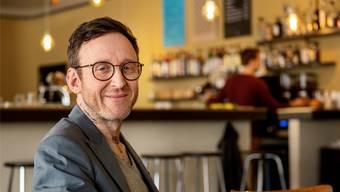«Mir Dinge auszudenken, gehört zu meinem Alltag»: Thomas Meyer (44).Christian Beutler/Keystone