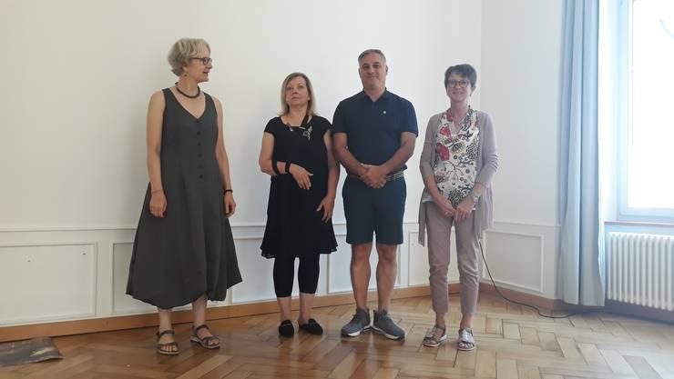 Cornelia Willi mit Renata Gruber, Alchenstorf, Marco Padula, Matzendorf, Marianne Romanens, Villars