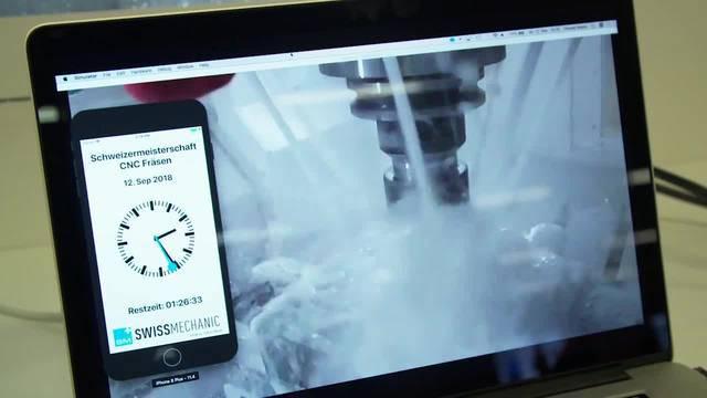 Polymechaniker CNC Fräsen: Silber für Manuel Wenziger ais Böbikon