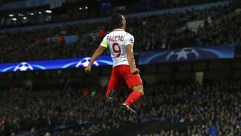 Radamel Falcao befindet sich mit der AS Monaco auf Höhenflug